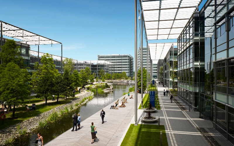 Chiswick Park cleaning contract retained for third term